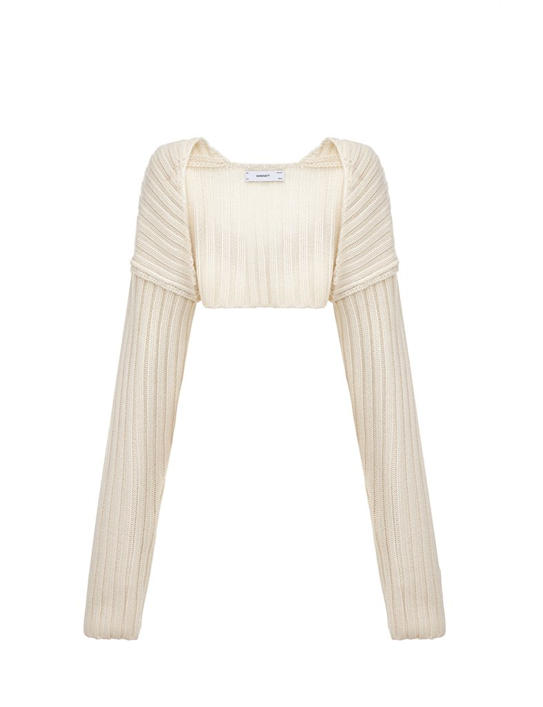 SWEATER SLEEVE by Simonett, available on simonett.us for $90 Kendall Jenner Outerwear Exact Product