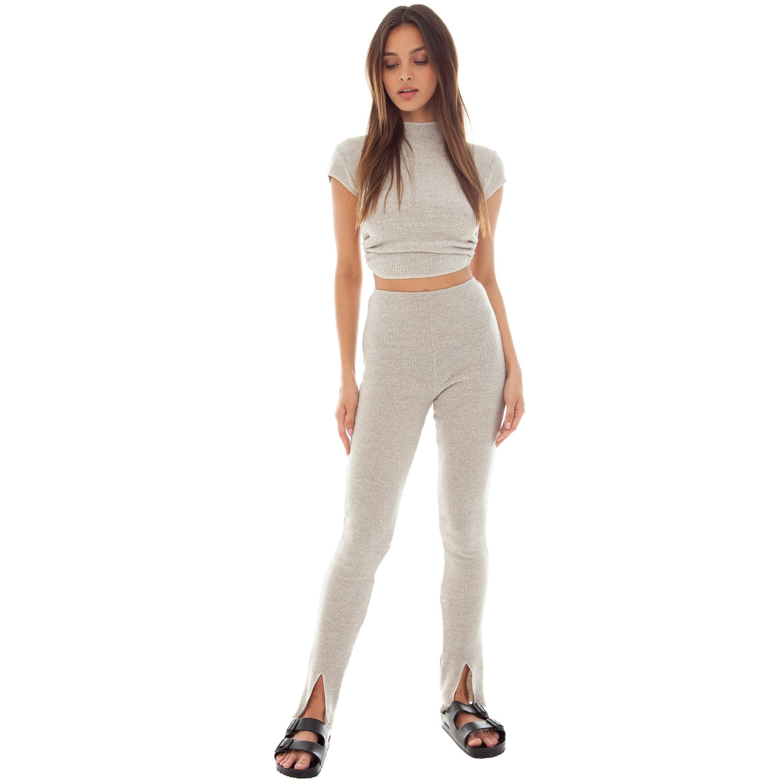 Sarei Legging by Are You Am I, available on areyouami.com for $140 Kendall Jenner Pants Exact Product