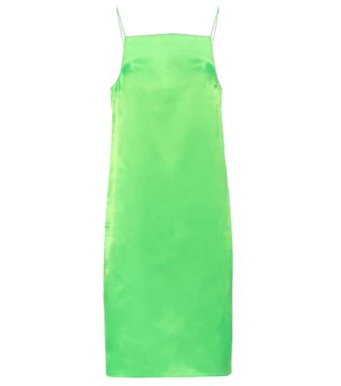 Satin slip dress by Kwaidan Editions, available on mytheresa.com for EUR245 Kendall Jenner Dress SIMILAR PRODUCT