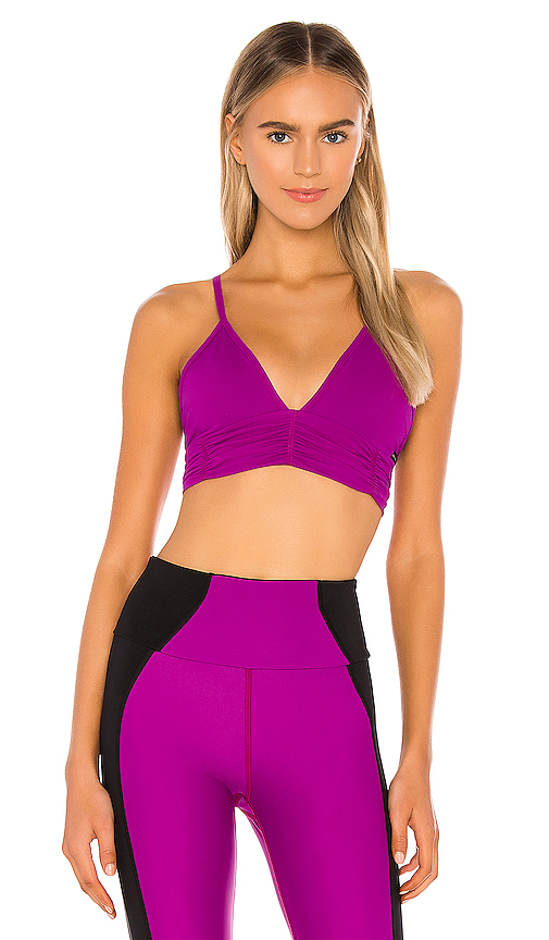 Scrunchy Sports Bra by Body Language, available on revolve.com for $44 Kendall Jenner Top SIMILAR PRODUCT