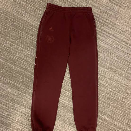 Season 5 Calabasas Collection Sweatpants in Burgundy by Yeezy, available on sobump.com Kendall Jenner Pants Exact Product