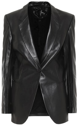 Single-breasted leather blazer by Petar Petrov, available on shopstyle.com for $1862 Kendall Jenner Outerwear SIMILAR PRODUCT