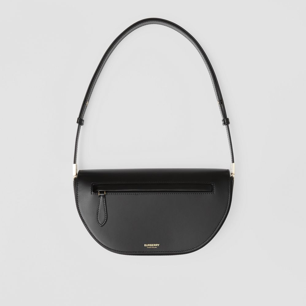 Small Leather Olympia Bag by Burberry, available on burberry.com for $2090 Kendall Jenner Bags Exact Product