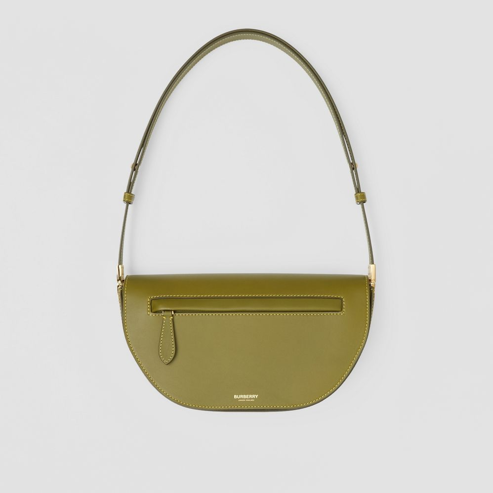 Small Leather Olympia Bag by Burberry, available on burberry.com for $1790 Kendall Jenner Bags Exact Product