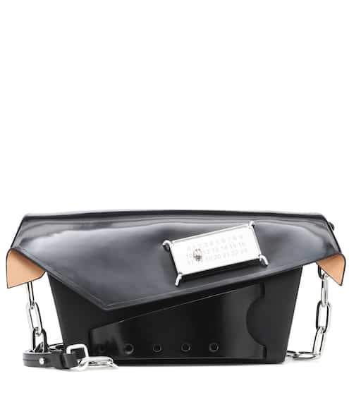 Snatched Small patent leather clutch by Maison Margiela, available on mytheresa.com for EUR1640 Kendall Jenner Bags SIMILAR PRODUCT
