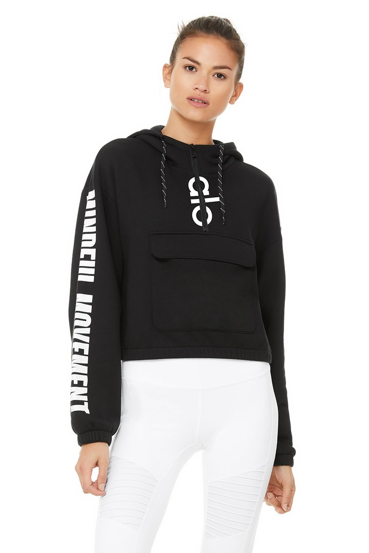 Solar Hoodie by Alo Yoga, available on aloyoga.com for $128 Kendall Jenner Top SIMILAR PRODUCT
