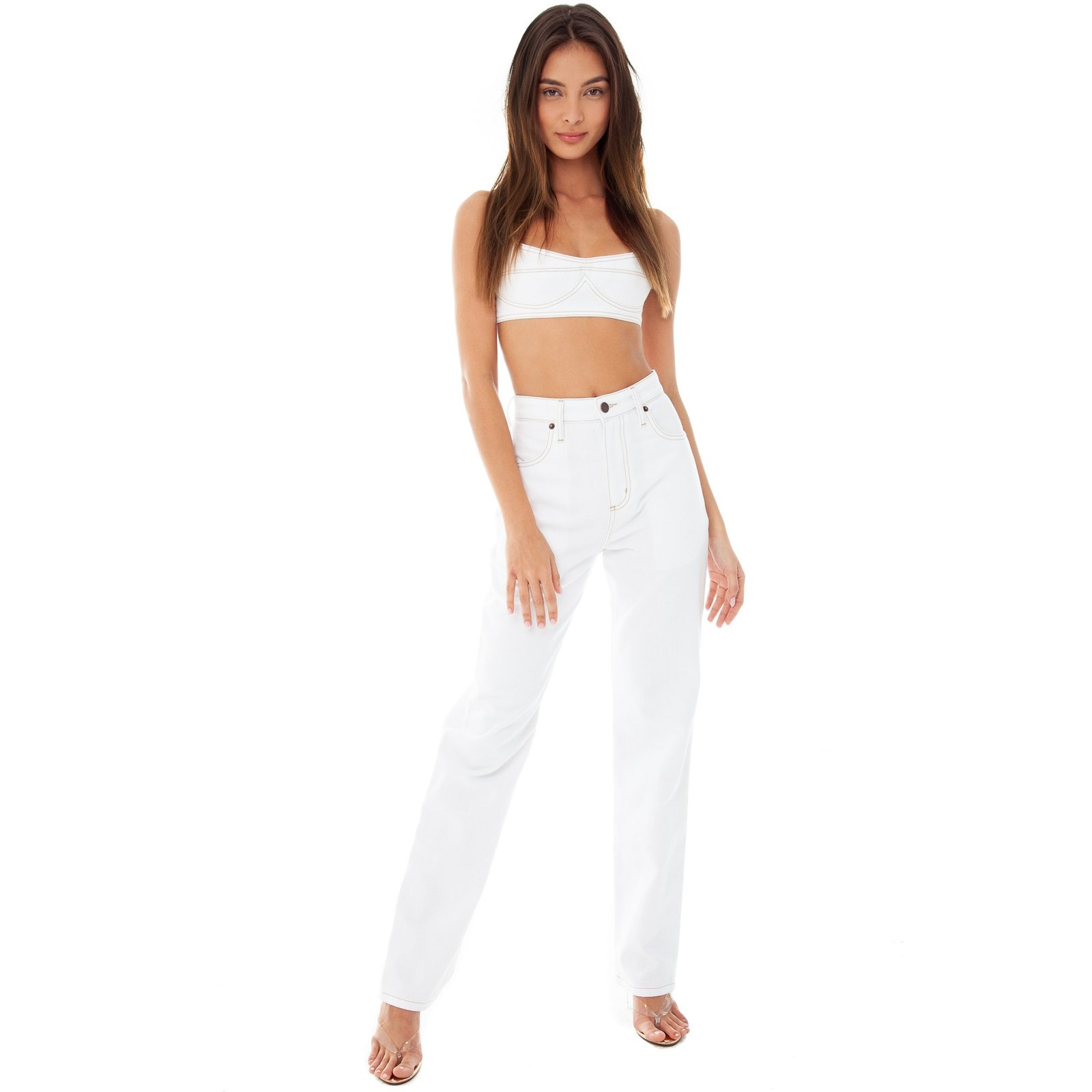Sprit Jean by Are You Am I, available on areyouami.com for $240 Kendall Jenner Pants SIMILAR PRODUCT