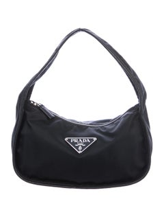 Tessuto Mini Hobo by Prada, available on therealreal.com for $745 Kendall Jenner Bags Exact Product