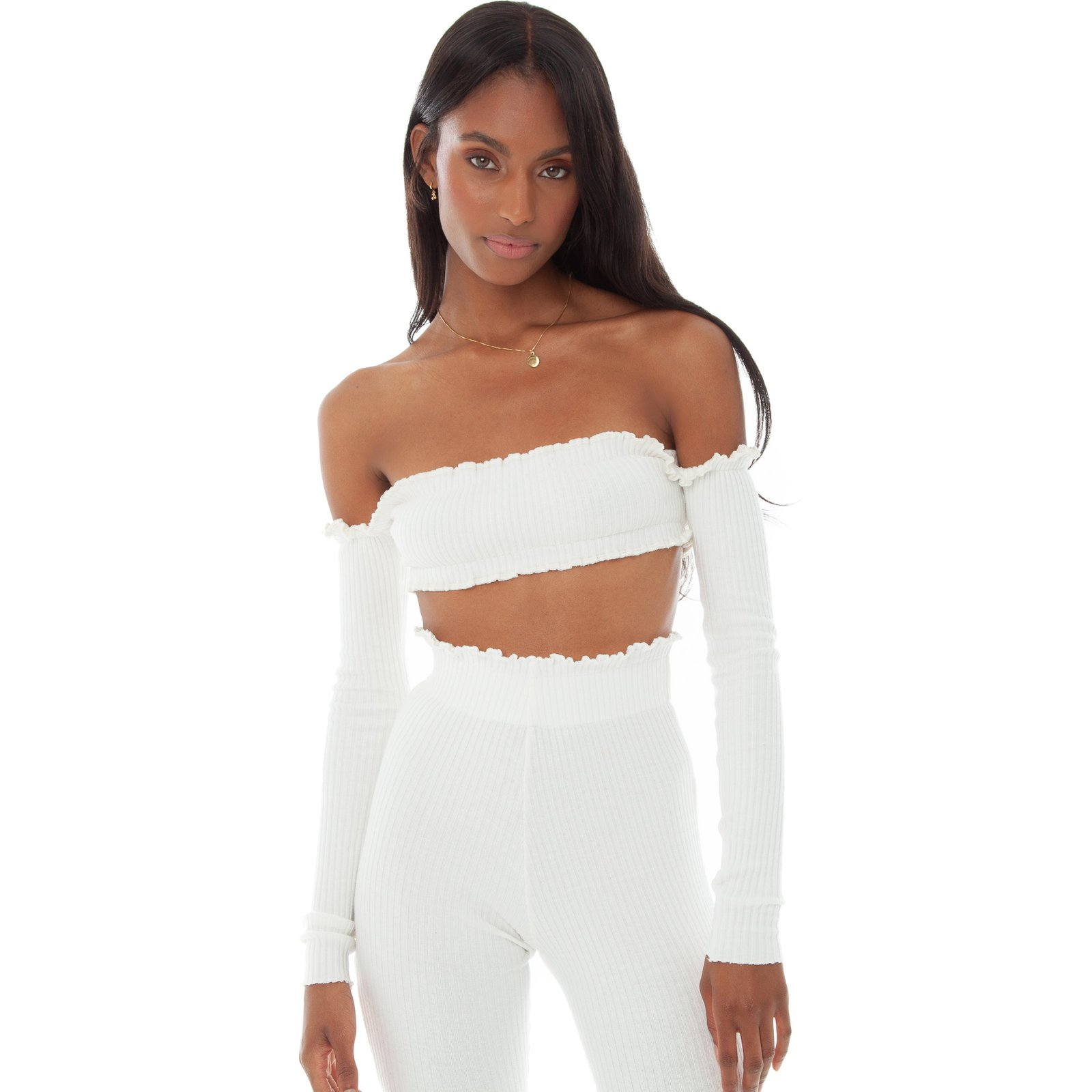 Tiiu Top by Are You Am I, available on areyouami.com for $120 Kendall Jenner Top SIMILAR PRODUCT