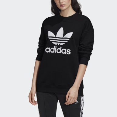 Trefoil Crew Sweatshirt by Adidas, available on FM3272.html for $60 Kendall Jenner Outerwear SIMILAR PRODUCT