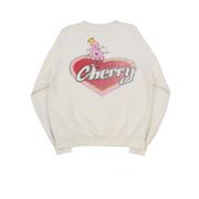 VALENTINE'S CREWNECK SWEATSHIRT (BONE) by Cherry, available on cherryla.com for $185 Kendall Jenner Outerwear SIMILAR PRODUCT