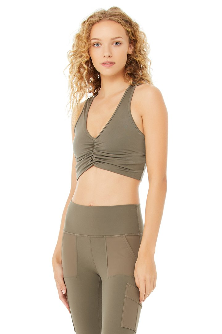 Wild Thing Bra by Alo Yoga, available on aloyoga.com for $62 Kendall Jenner Top SIMILAR PRODUCT