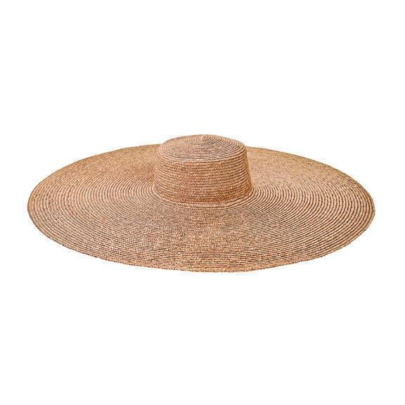 Women's wheat straw hat with oversized brim by San Diego Hats, available on sandiegohat.com for $75 Kendall Jenner Hat Exact Product
