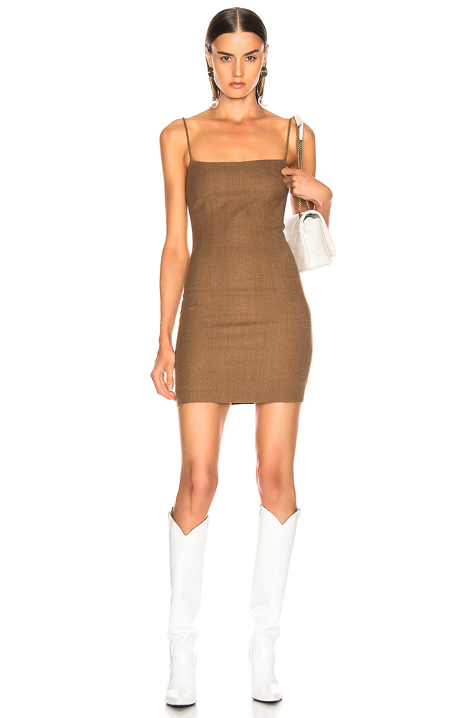 Wool Mini Dress by Zeynep Arcay, available on fwrd.com for $1450 Kendall Jenner Dress Exact Product
