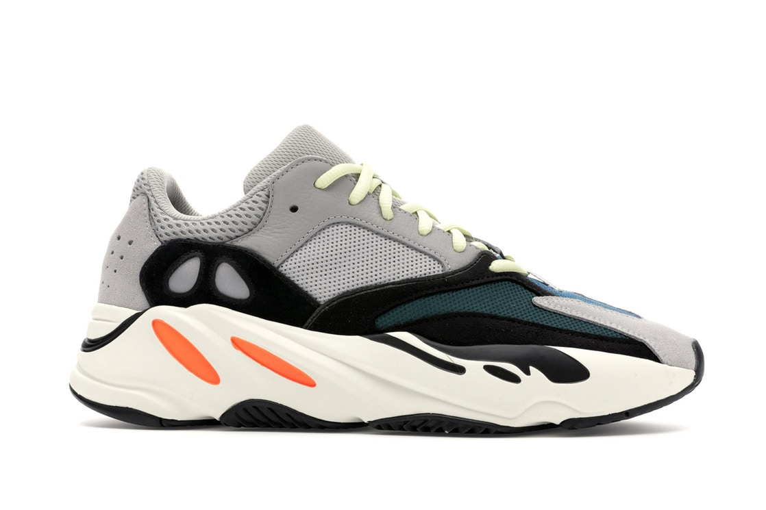 adidas Yeezy Wave Runner 700 Solid Grey by Yeezy, available on stockx.com for $431 Kendall Jenner Shoes Exact Product