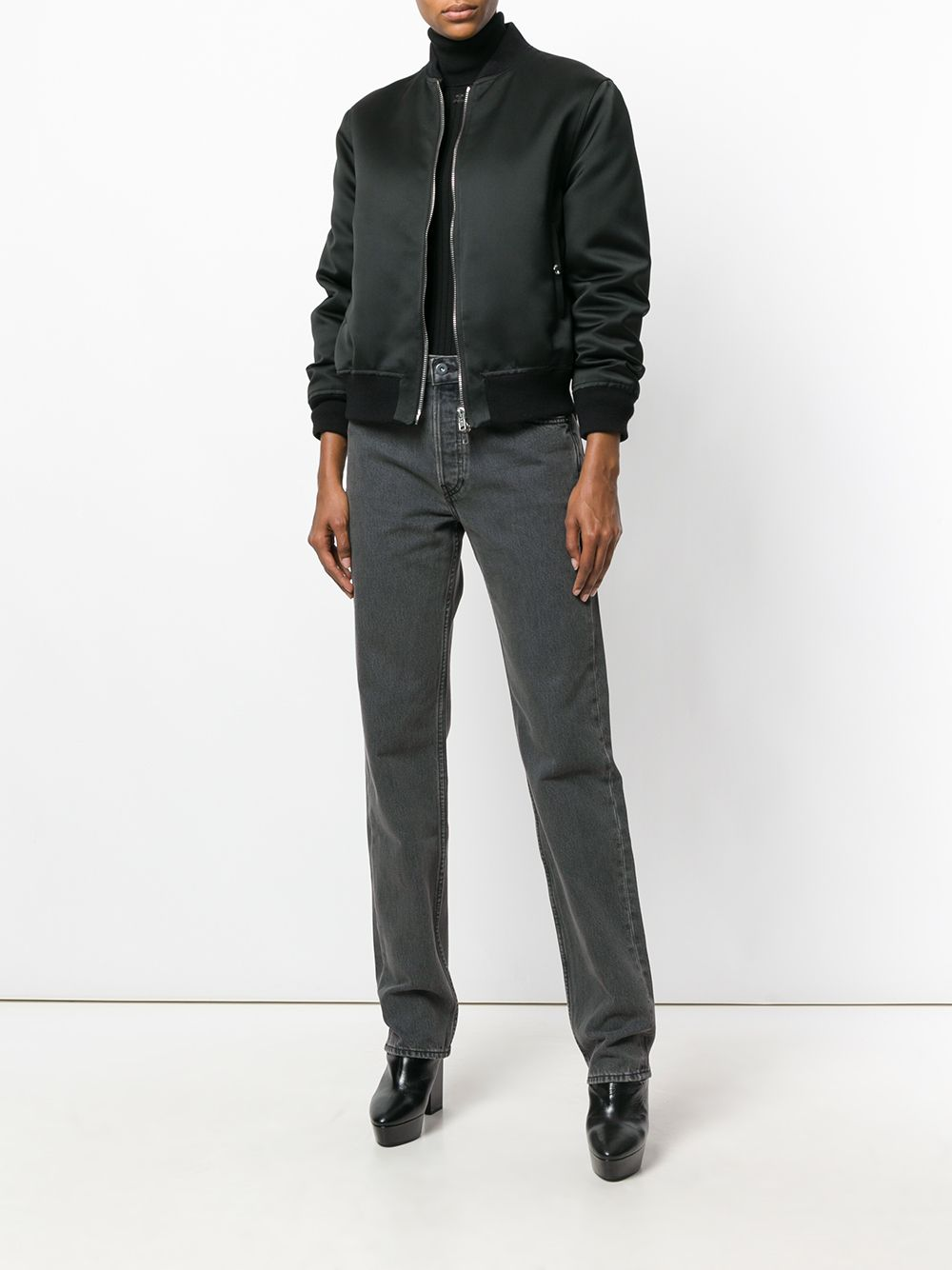 faded dark jeans by Yeezy, available on farfetch.com Kendall Jenner Pants Exact Product