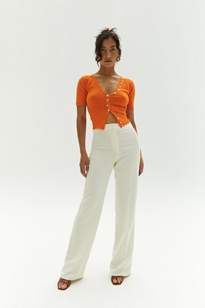 pants becky by Musier Paris, available on musier-paris.com for EUR16000 Kendall Jenner Pants Exact Product