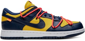 x Off-White Dunk Low University Gold sneakers by Nike, available on shopstyle.com for $420775 Kendall Jenner Shoes Exact Product
