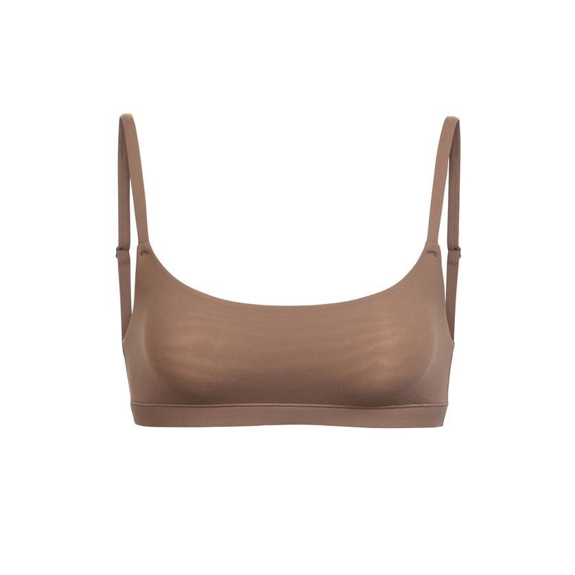FITS EVERYBODY SCOOP NECK BRA by Skims, available on skims.com for $32 Khloe Kardashian Top SIMILAR PRODUCT