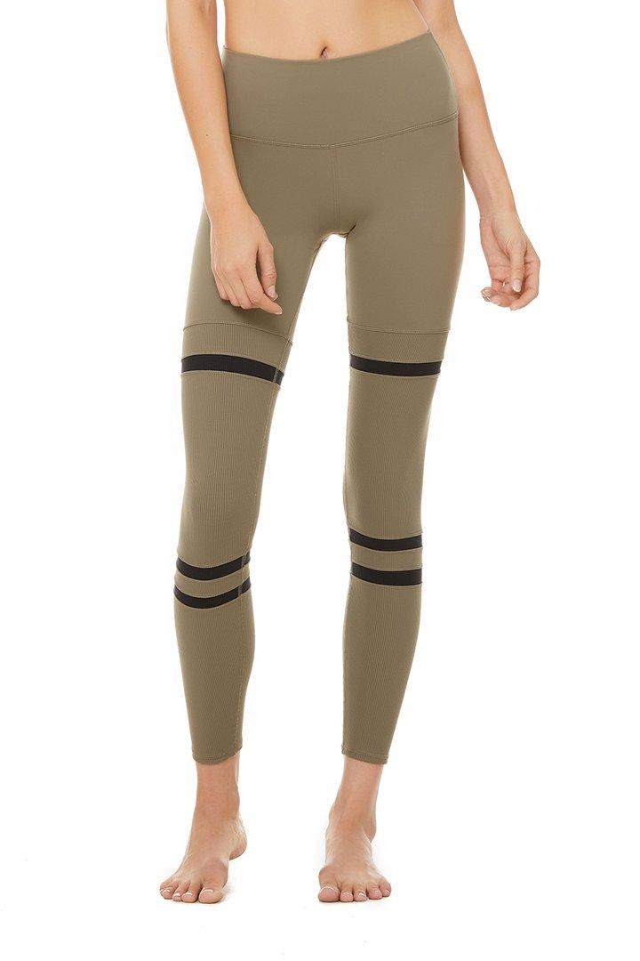 High-Waist Legit Legging by Alo Yoga, available on aloyoga.com for $118 Khloe Kardashian Pants SIMILAR PRODUCT