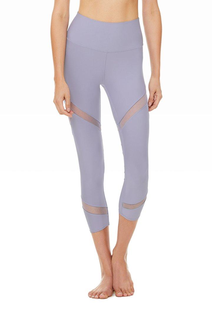 High-Waist Mesmerize Capri by Alo Yoga, available on aloyoga.com for $88 Khloe Kardashian Pants SIMILAR PRODUCT
