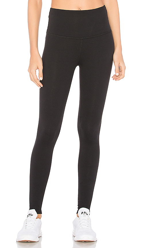 High Waisted Midi Legging by Beyond Yoga, available on revolve.com for $88 Khloe Kardashian Pants SIMILAR PRODUCT