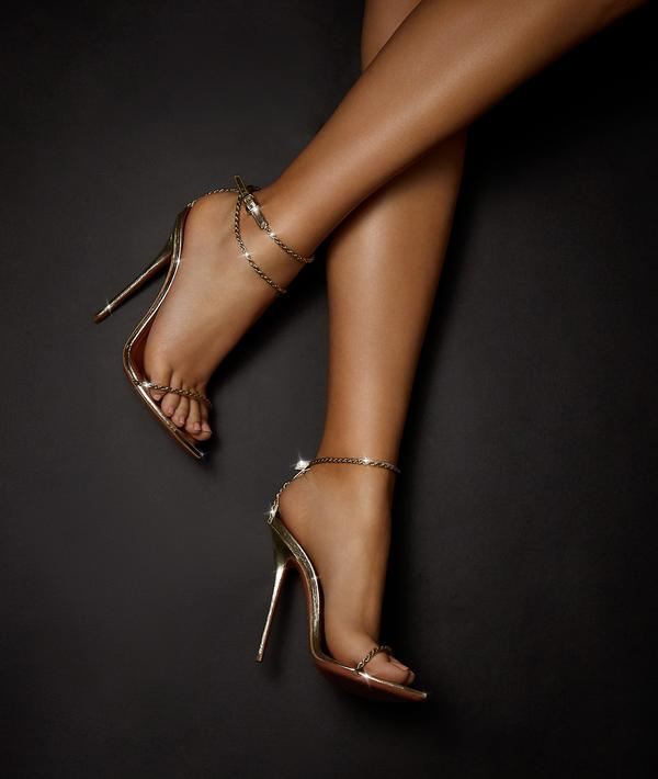 Jessica by Katie Biltoft, available on katiebiltoft.com for $895 Khloe Kardashian Shoes Exact Product