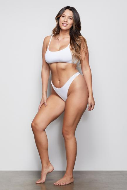 LOW IMPACT SEAMLESS THONG by Good-American, available on goodamerican.com for $15 Khloe Kardashian Shorts Exact Product