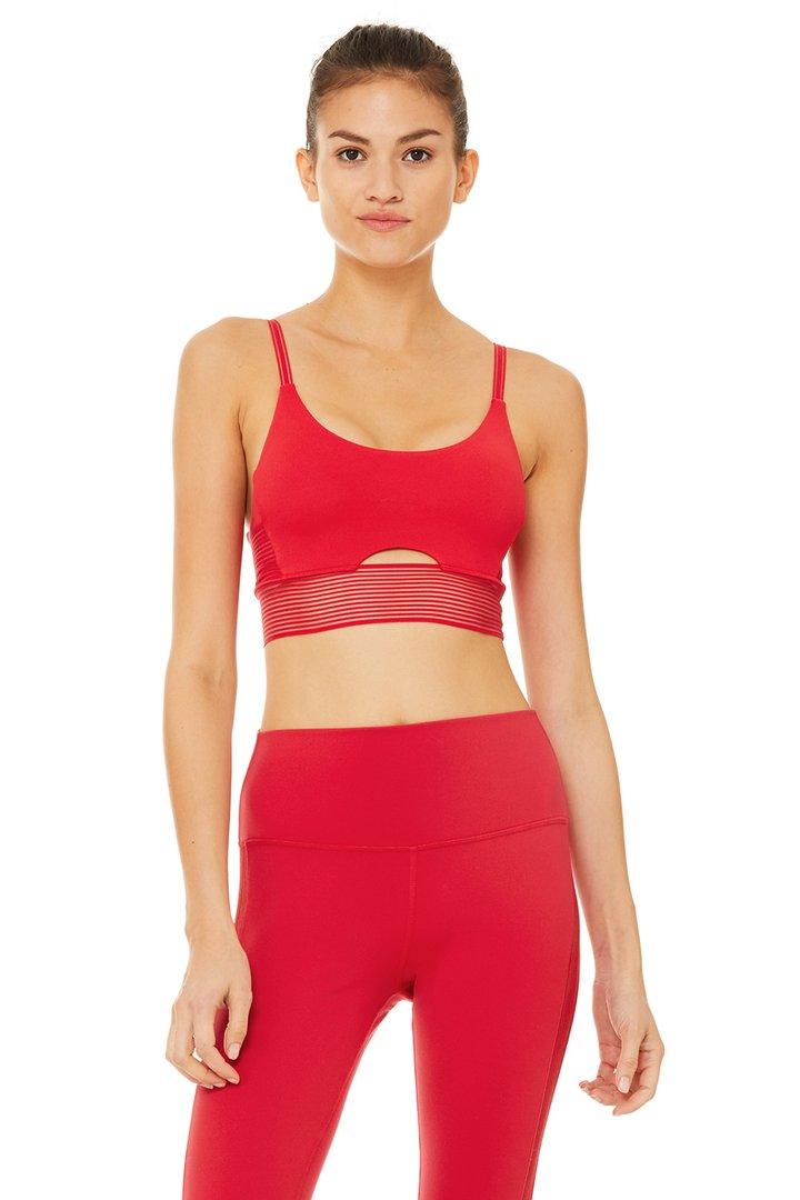 Line-Up Bra by Alo Yoga, available on aloyoga.com for $58 Khloe Kardashian Top SIMILAR PRODUCT