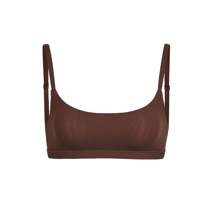 SCOOP NECK BRA by Skims, available on skims.com for $32 Khloe Kardashian Top Exact Product