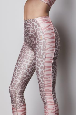 THE ELECTRIC FEEL LEGGING   MIXED ANIMAL002 by Good American, available on goodamerican.com for $129 Khloe Kardashian Pants SIMILAR PRODUCT