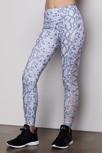 THE TRENDSETTER LEGGING   PYTHON001 by Good American, available on goodamerican.com for $115 Khloe Kardashian Pants SIMILAR PRODUCT