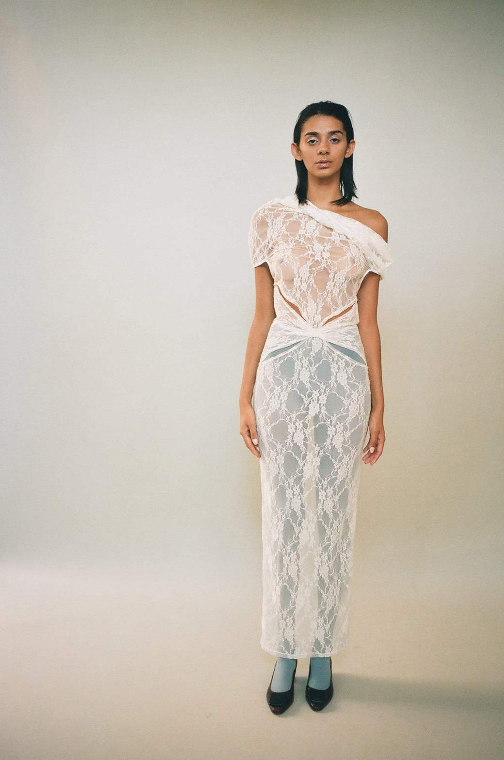 Amarre Dress by Barragan, available on maimounstore.com for $439 Kim Kardashian Dress Exact Product