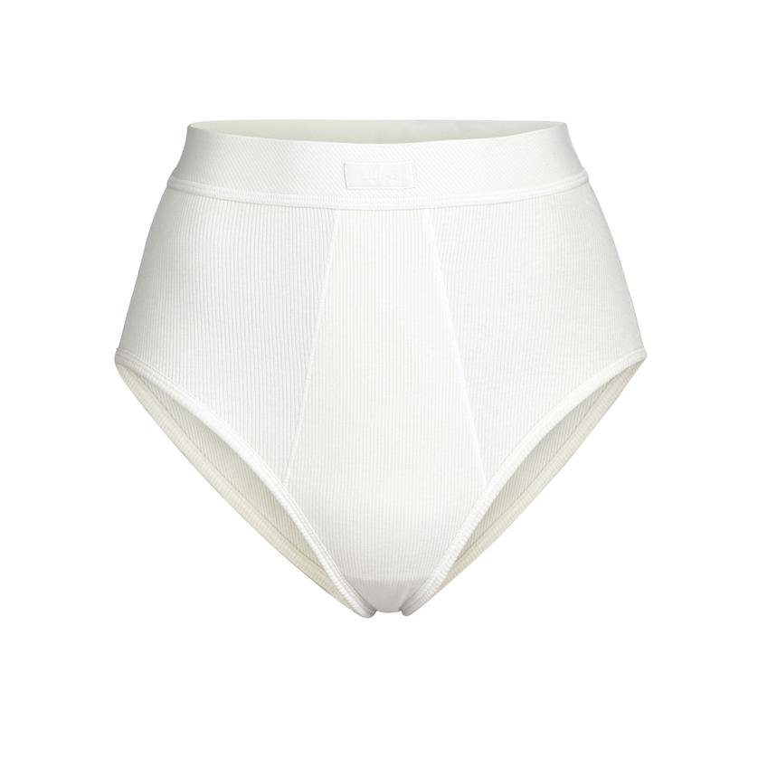COTTON RIB BRIEF by Skims, available on skims.com for $28 Kim Kardashian Shorts SIMILAR PRODUCT