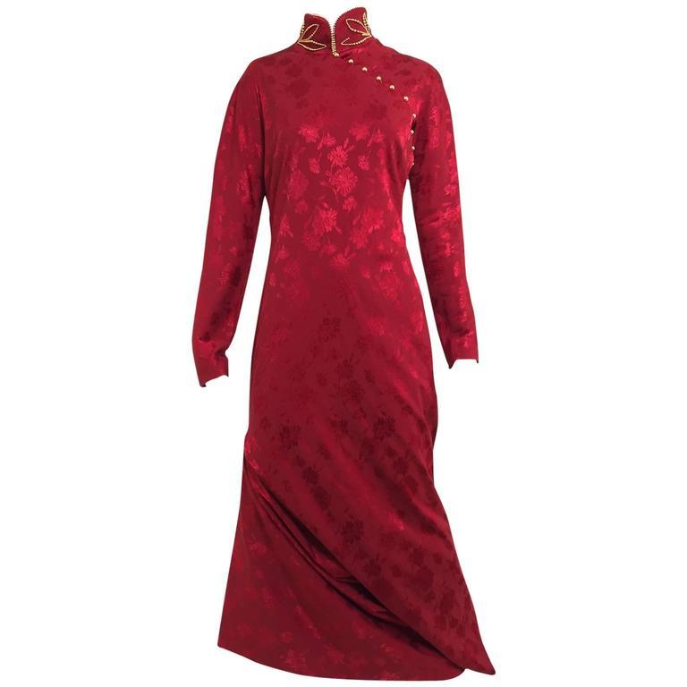 Dior by John Galliano Fall 1997 Silk Jacquard Cheongsam Gown by Christian Dior, available on 1stdibs.com Kim Kardashian Dress Exact Product
