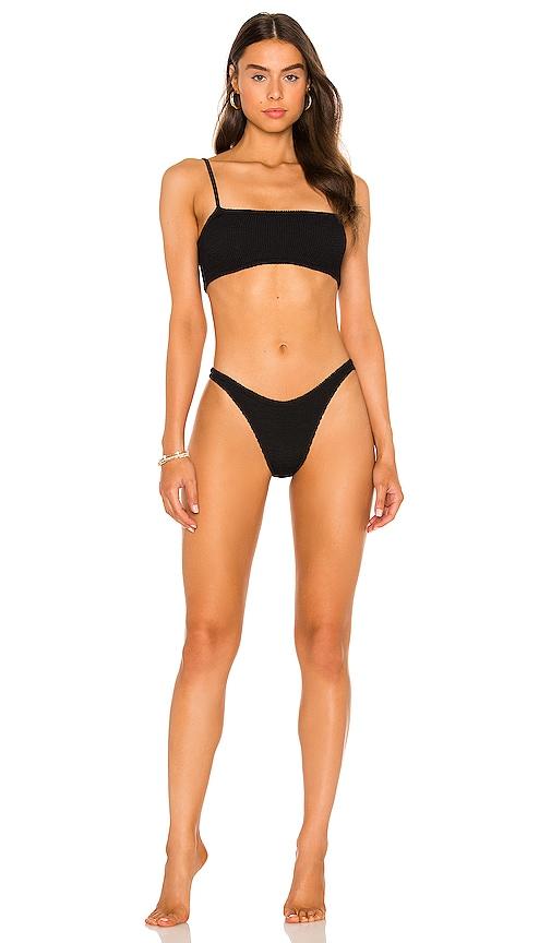 Gigi Bikini Set by Hunza G, available on revolve.com for $205 Kim Kardashian Pants Exact Product