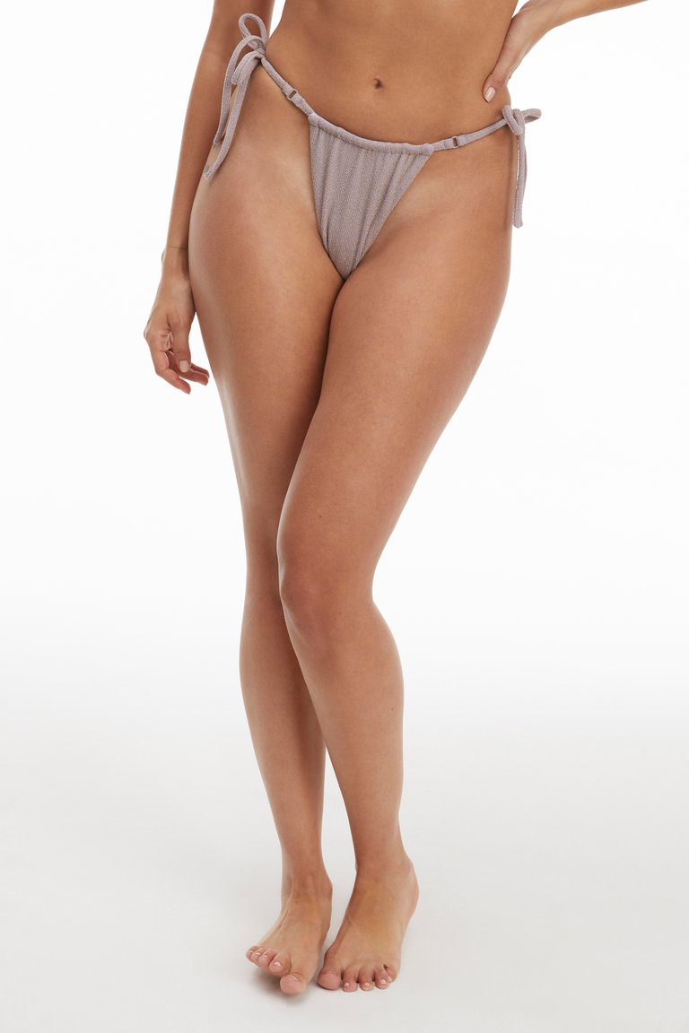 HI-HI TANGA BOTTOM by Good American, available on goodamerican.com for $49 Kim Kardashian Shorts Exact Product