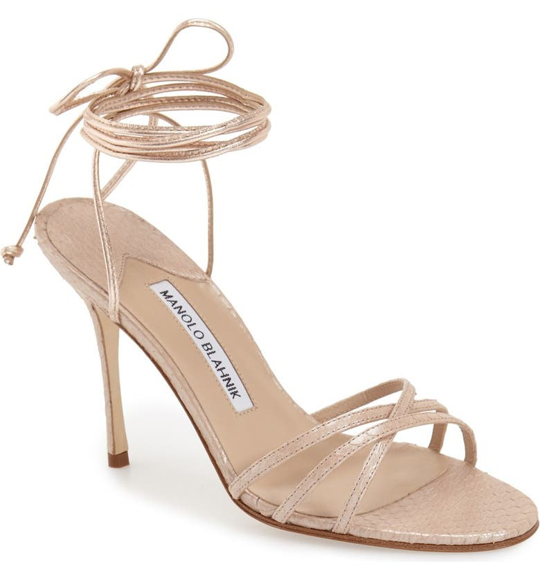 'Leva' Sandal by Manolo Blahnik, available on nordstrom.com Kim Kardashian Shoes Exact Product