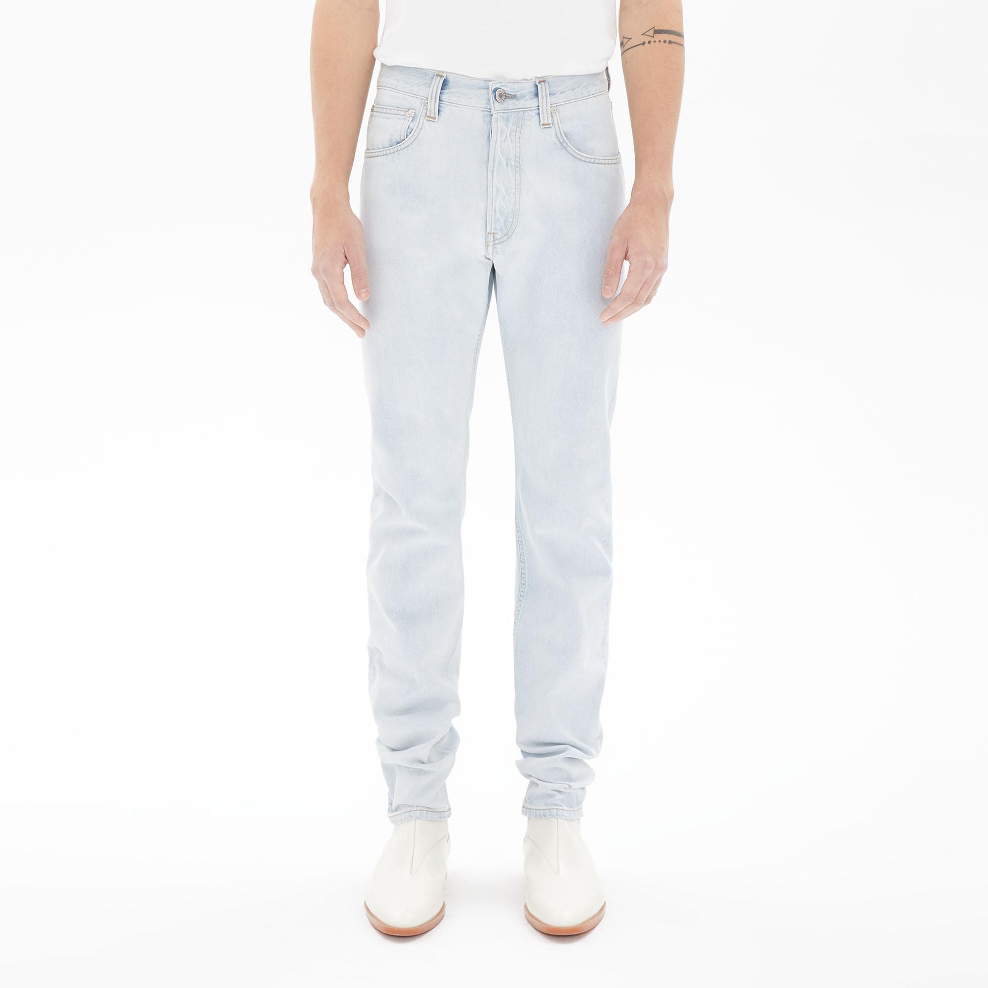 MASC HI STRAIGHT LEG JEANS by Helmut, available on helmutlang.com for ₹9800 Kim Kardashian Pants Exact Product