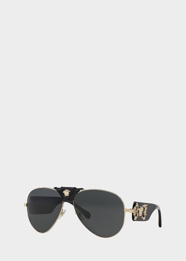 Medusa Sunglasses by Versace, available on versace.com for $280 Kim Kardashian Sunglasses Exact Product