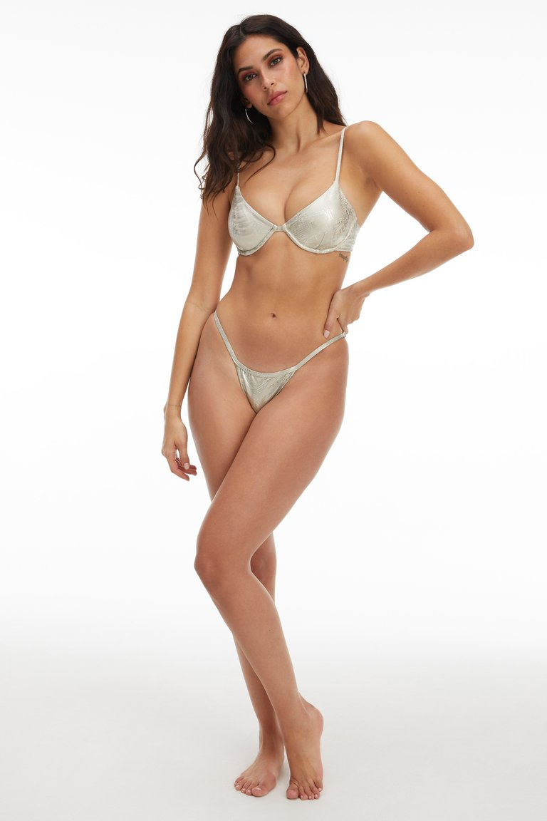 SCOOP BIKINI TOP by Good American, available on goodamerican.com for $59 Kim Kardashian Top Exact Product