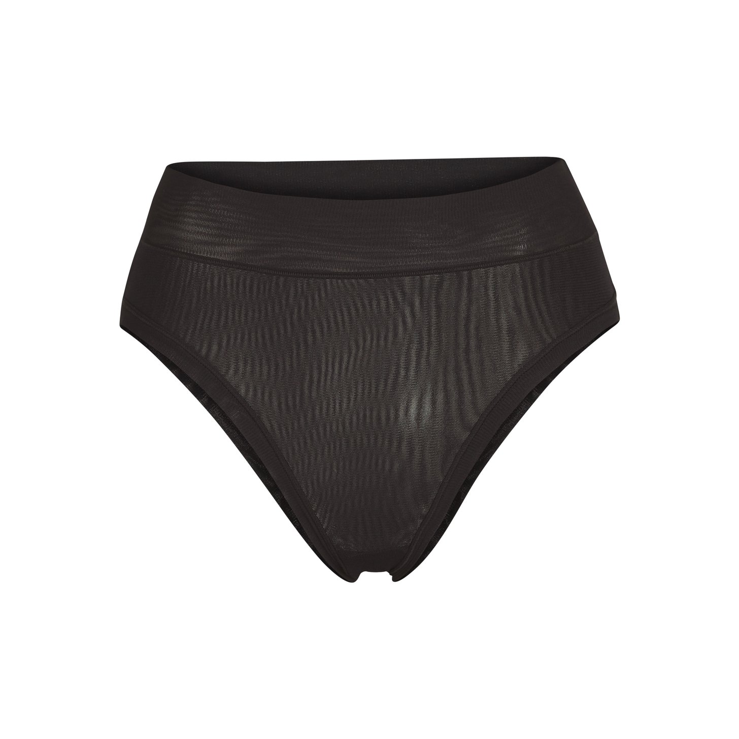 SUMMER MESH BRIEF by Skims, available on skims.com for $26 Kim Kardashian Shorts Exact Product