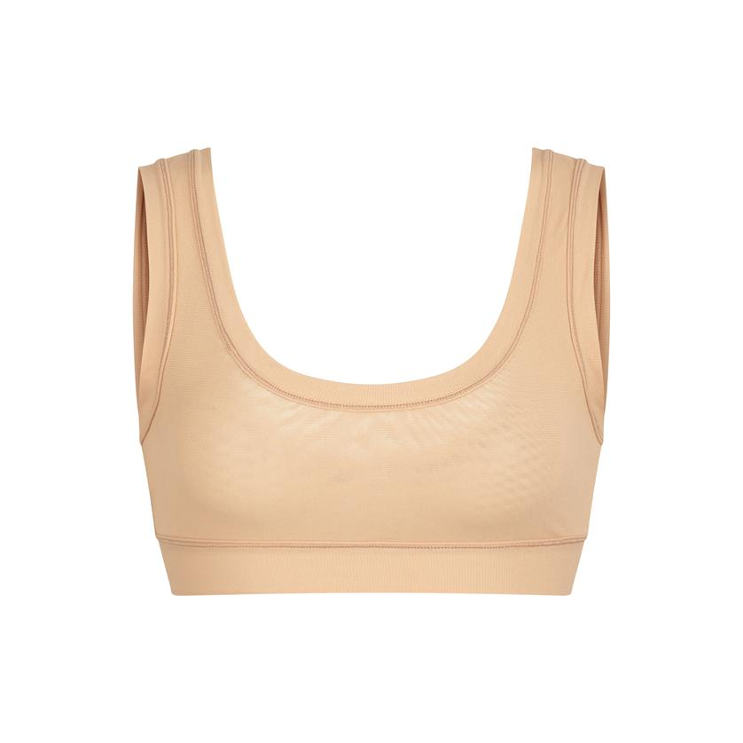 SUMMER MESH SCOOP BRALETTE by Skims, available on skims.com for $38 Kim Kardashian Top SIMILAR PRODUCT