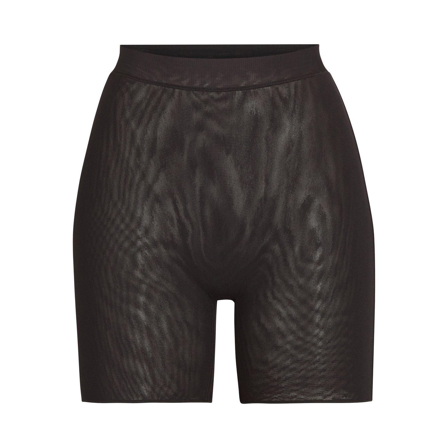 SUMMER MESH SHORT by Skims, available on skims.com for $30 Kim Kardashian Shorts Exact Product