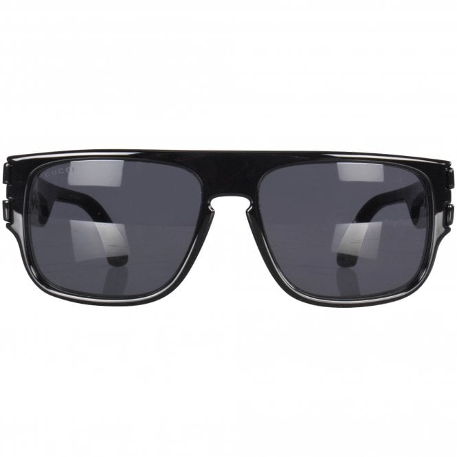 SUNGLASSES Classic Black Gucci Logo Sunglasses by GUCCI, available on brother2brother.co.uk for $261.59 Kim Kardashian Sunglasses Exact Product