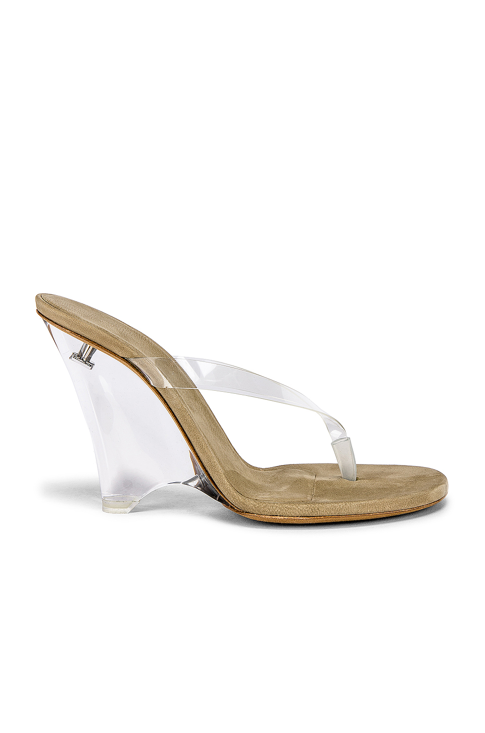 Season 8 Thong Sandals by Yeezy, available on revolve.com for $523 Kim Kardashian Shoes Exact Product