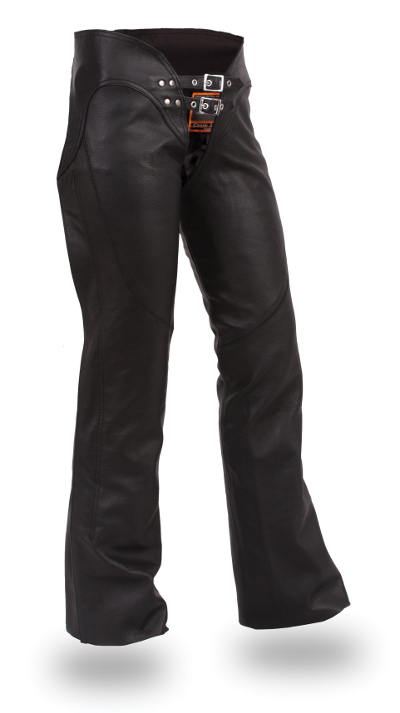 Women's Leather Double Belted Chap by BAD ASS CHAPS, available on baddasschaps.com for $189 Kim Kardashian Pants SIMILAR PRODUCT