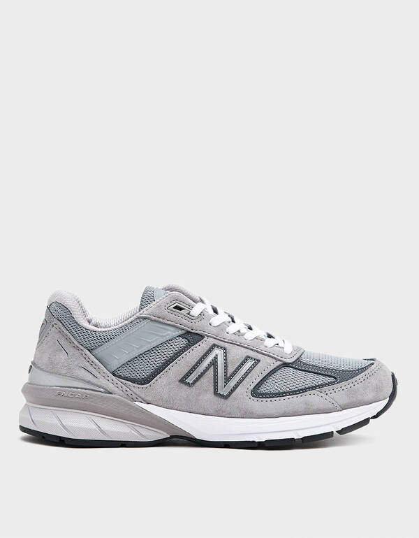 990v5 Sneaker in Grey by New Balance, available on needsupply.com for $175 Kourtney Kardashian Shoes Exact Product