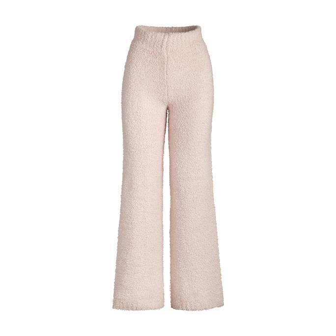 COZY KNIT PANT by Skims, available on skims.com for $88 Kourtney Kardashian Pants Exact Product