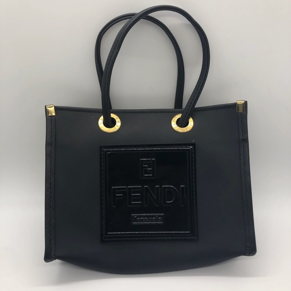 Fazzuolo Logos Mini Rubber Bag by FENDI, available on poshmark.com for $425 Kourtney Kardashian Bags Exact Product